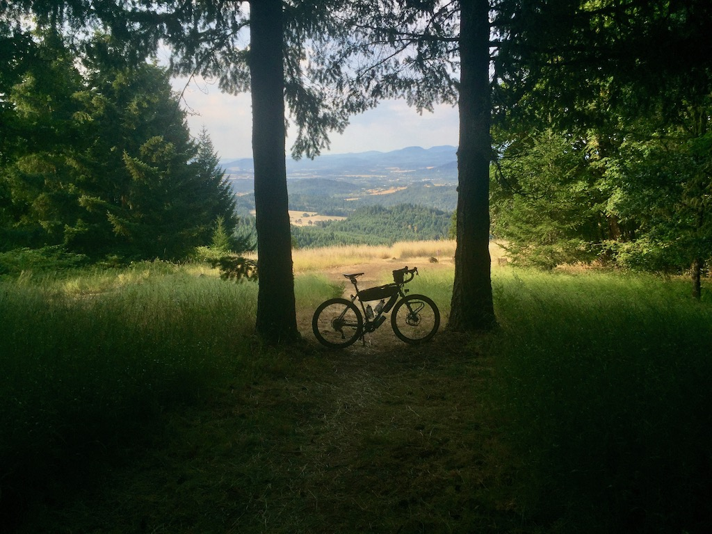 Bike on Dimple Hill
