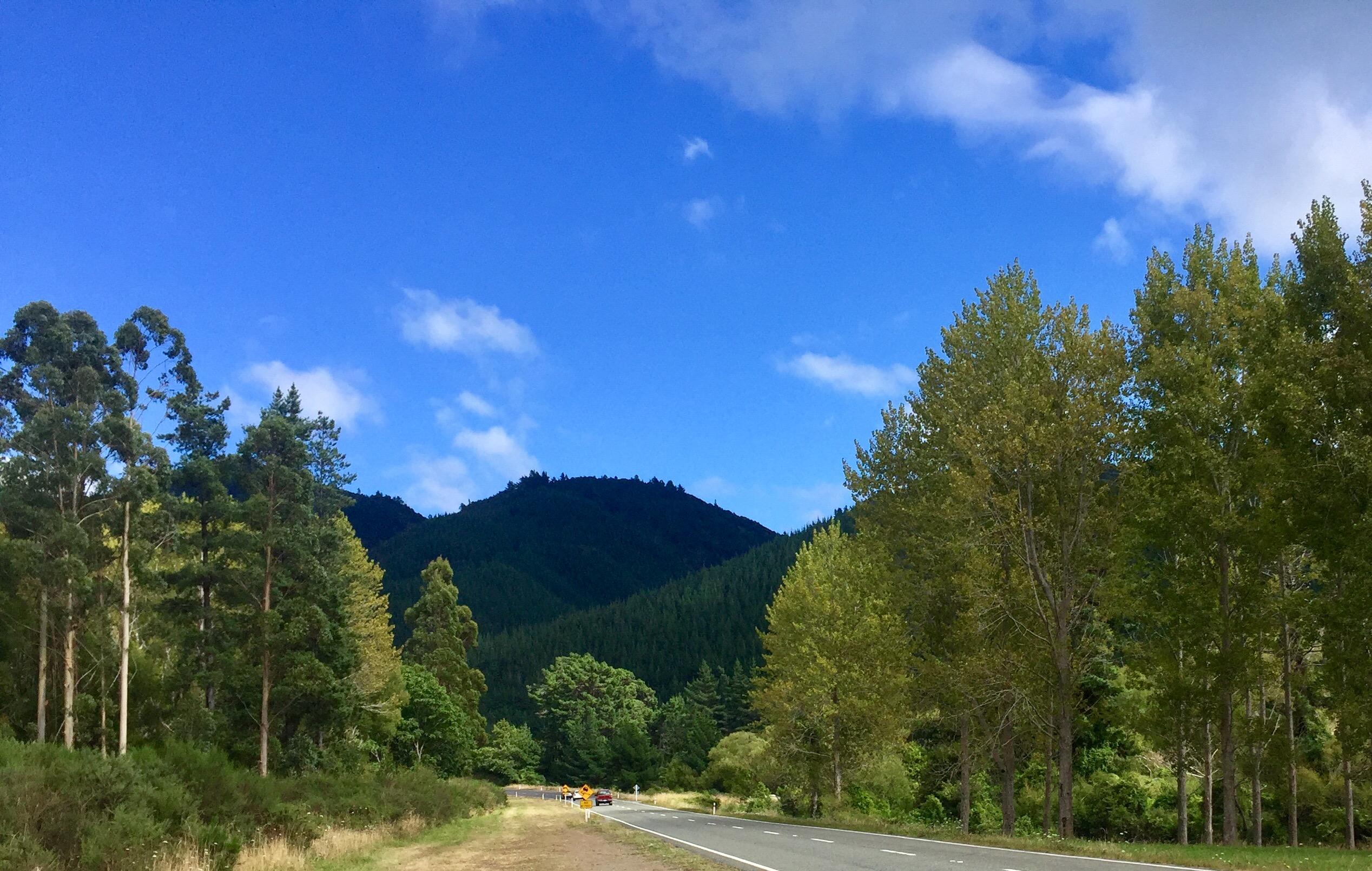 Wangamoa Mountains